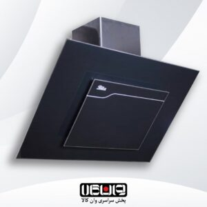 هود بیتا – مدل ساینا 60cm – مورب شیشه تخت کلید مکانیکی