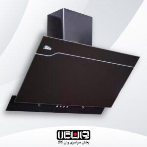 هود بیتا – مدل آرام 90cm – مورب شیشه تخت کلید مکانیکی
