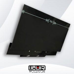 هود بیتا – مدل ترنج 90cm – مورب شیشه تخت لمسی ریموت کنترل دار