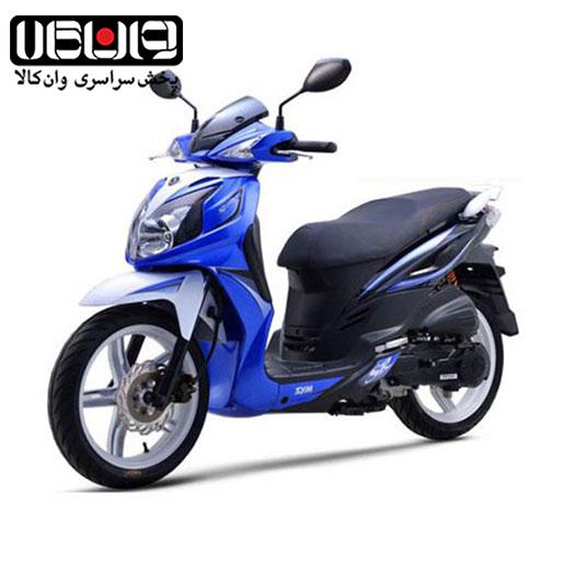 موتورسیکلت گلکسی sym sr200